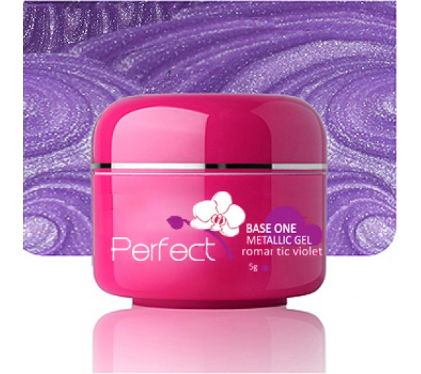 Gel uv Unghii Metalic Romantic Violet